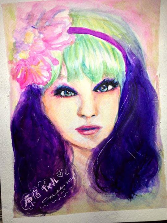 Watercolor 9x12 Watercolor Paper © Little Miss Marikit