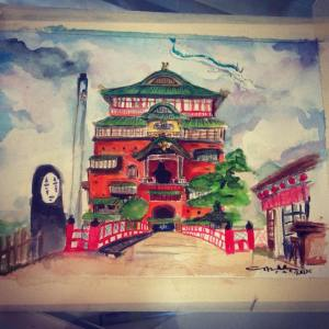 Spirited Away Castle