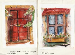 Door and window Mini Studies