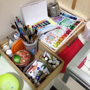My Collection of Watercolor
