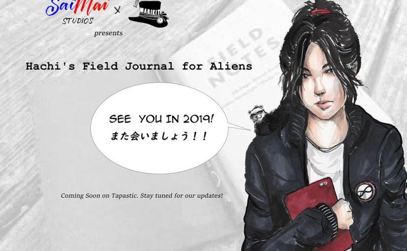 Webtoon Up! Hachi's Field Journal forAliens