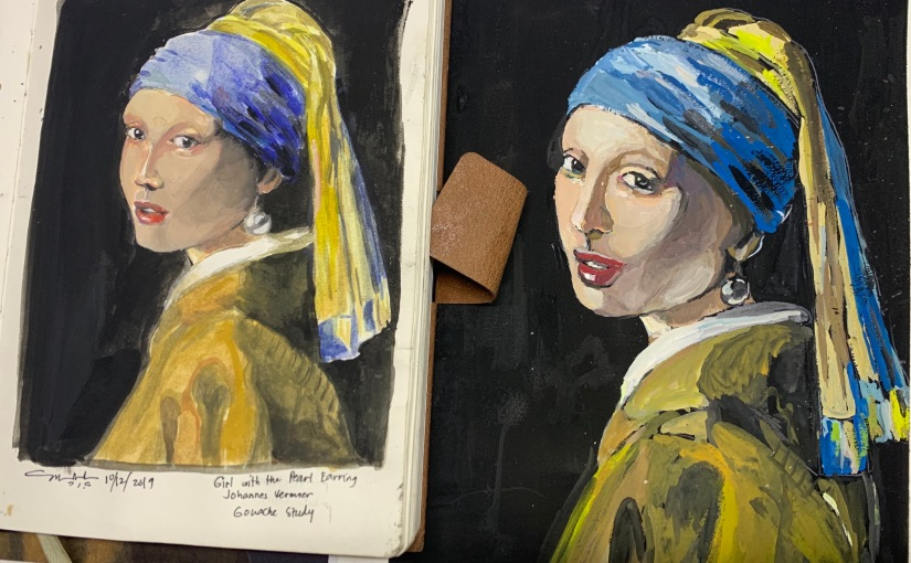 Classical Master Study: The Girl with the PearlEarring