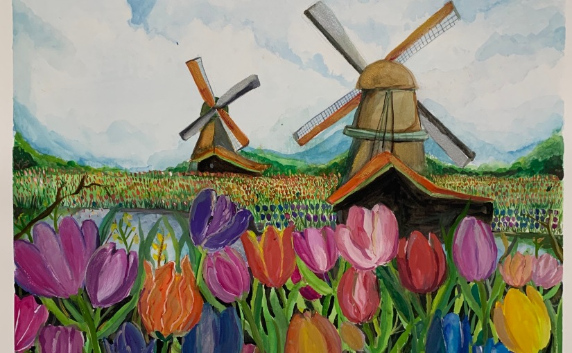 Windmills and Tulips