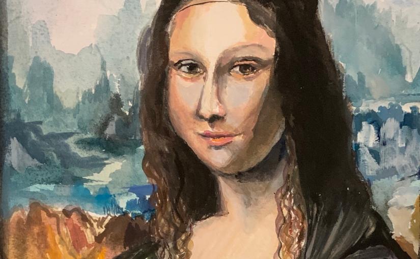 Classical Master Study:Monalisa