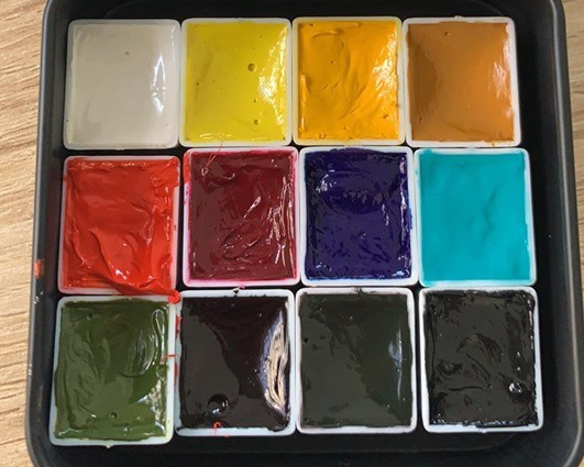 Custom All in One WatercolorPalette